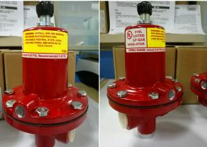China Model 64-35 High Pressure LPG Fisher Gas Regulator 64 Pressure Reducing Valve on sale