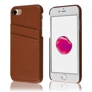 China Card Slot Vintage Series Soft Cell Phone Leather Cases 2 Card Slots For Iphone 7 on sale
