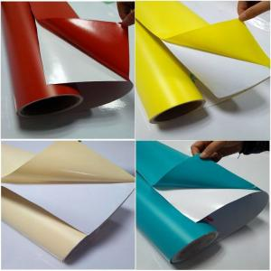 China Glossy 1060mmx30m Multi Color Vinyl Stickers Permanent Adhesive on sale