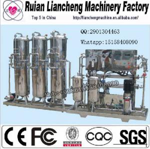 China made in china GB17303-1998 one year guarantee free After sale service small ro plant on sale
