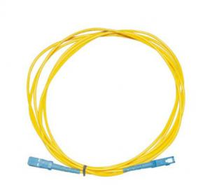 China Single Mode Fiber Optic Cable , 2M 3M SC - SC Fiber Cable SM / MM For Test Equipment on sale