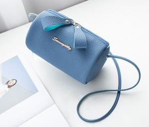 China WHOLESALES Small Cylinder Zipper Bag for Traveling Crossbody Satchels Bag Zipper Cute Coin Purse Wallets-Customized Bag on sale