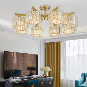 China Fancy Crystal led ceiling lights Food Indoor Home lighting Fixtures (WH-CA-40) on sale