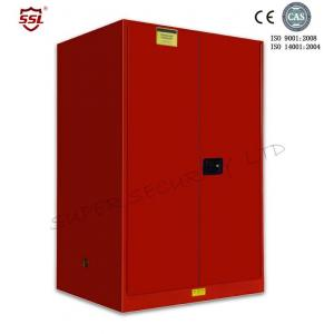 Quality Industrial Chemical Metal Storage Cabinet With Adjustable 2 Shelves , 340l for sale
