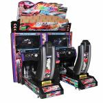 Electronic Indoor Racing Arcade Machine Double Player Stand Up Arcade Games Machine