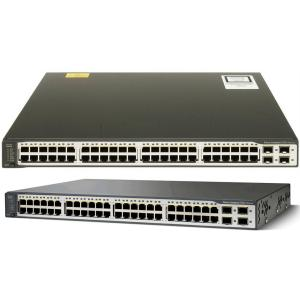China SFP Standard Cisco Network Switch Layer 3 Switch WS-C3750V2-48TS-S on sale