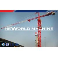 Red Steel TC5210 6T Construction Tower Crane With Hammer Head