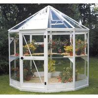 aluminum greenhouse with one door one window