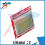 Arduino のためのモジュール、Arduino のための白いバックライト赤い PCB が付いているノキア 5110 LCD モジュール