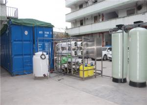 China Automated Seawater Desalination Equipment Pure Water Machine With High Pressure Pump on sale