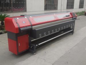 China 3.2m Solvent Printer Ourdoor Flex Banner Printing Machine with 4/8 Konica 512 Heads on sale