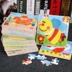 China Plain Animal Custom Cardboard Jigsaw Puzzles  Die Cut Paper Kids Educational on sale