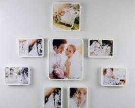 China Frameless Wall Mounted Acrylic Photo Frames 5x7 Picture Frames For Home Decoration on sale