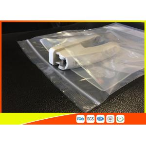 Quality Industrial Use Kangaroo Clear Zip Lock Bags Pouch Custom Printing 45 Mic Thickness for sale