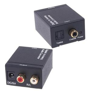 China 96 KHz. Optical Coax Digital to Analog Audio Converter Adapter Toslink on sale