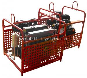 China Hydraulic mountain portable drilling rig on sale