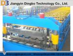 380V Sandwich Panel Line Corrugated Roof Panel Roll Forming Machine With Hydraulic Control System