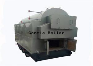 China Fire Tube 4 Ton Coal Steam Boiler 1.0 - 2.5 MPA Pressure Natural Circulation on sale