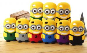 China Despicable Me Silicone Phone case For IPhone, For Sumsung on sale