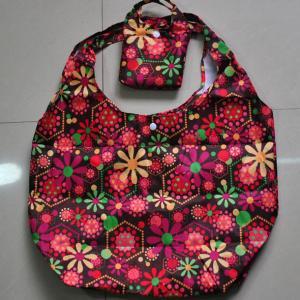 China promotional nylon shopping bag on sale