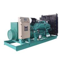China High Performance CUMMINS Diesel Electric Generator Green Color Energy Saving on sale