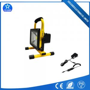 China Portable Die-casting Aluminum 20W Rechargeable LED Flood Light With COB Epistar on sale