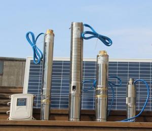 China 5hp Solar Powered Well Pump Irrigation 380 V 7.8 KW Multi Stage Lightweight supplier