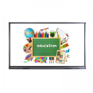 China Infrared 10 Point Large Touch Screen Monitor , Smart Board Touch Screen Lcd Display 86 Inch on sale