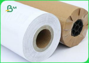 China FSC Certified 70gsm 80gsm CAD Inkjet Plotter Paper Roll Size A1 A0 For Drawing on sale