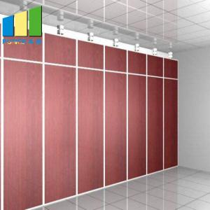 China Office Decoration Movable Partition Wood Folding Partition Walls for Conference Room on sale