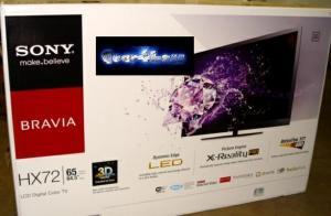 China Sony KDL-65HX729 65 3D LED LCD Flat Panel Screen TV HDTV on sale