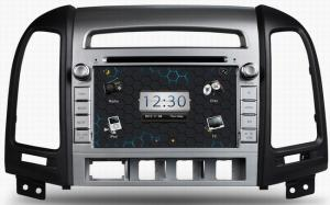 China ouchuangbo dvd player for Hyundai Santa Fe 2006-2012 with TV iPod video auto accessories OCB-7024 on sale