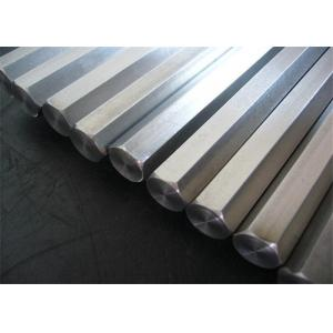China 300 Series Cold Drawn Steel Bar , Hexagonal Rod Stainless Steel Bar on sale