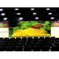 Custom Ultra-Thin SMD3IN1 Indoor LED Video Wall P6 / P10 16bit For Movie Display