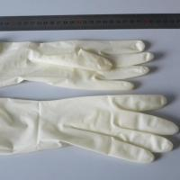 China Examination Disposable latex rubber gloves Powdered and Powder Free in Malaysia on sale