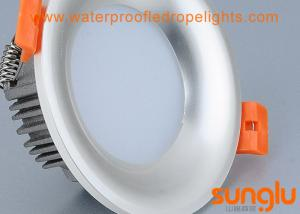 China Professional 240v LED Downlights No Flicker Pear Silver Color SMD LED Downlight on sale