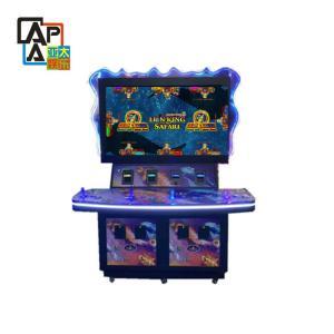 China Lion King Safari fish gambling machine arcade fishing game machine Coin slot machine on sale