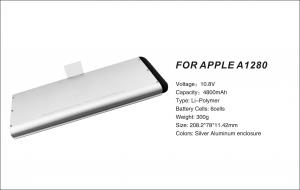 China Rechargeable Battery For Apple Macbook Pro 13 Unibody A1280 on sale