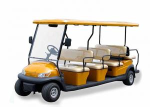 China City Tourist 12 Seater Golf Cart With Flip - Flop Backseat , CE Approved on sale