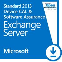 Microsoft Exchange Server 2013Standard Device CALand Software Assurance Open Gov