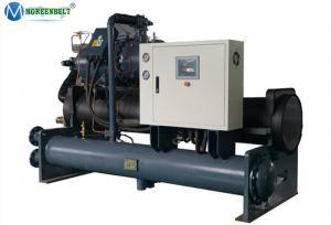 China Low Temperature -10 C Water Cooled Screw Chiller For Chemical Reaction Kettle on sale