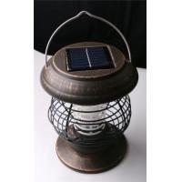 Solar-Powered Mosquito Fly Pest Insect Bug Zapper Yard Outdoor Solar Light