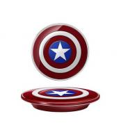 Avengers Original QI Wireless Charger For Samsung Galaxy S6/S6 Edge  Captain America Shield Charging Pad