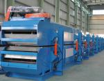 ISO CE PLC Control PU Sandwich Panel Machine With Belt Laminating , Low Noise
