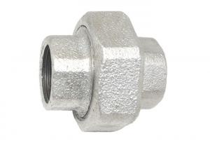 China 330 Galvanized Malleable Iron Unions , Malleable Iron Pipe Fittings Parts on sale