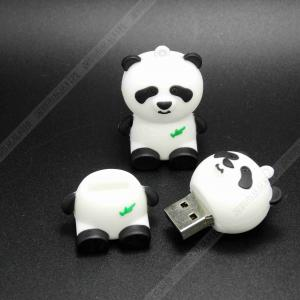 China Sandisk  Custom PVC Panda Shape USB Stick|USB Flash Drives  for Promotional Gifts on sale