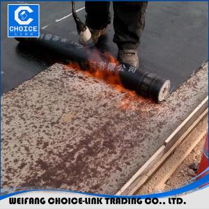 China SBS&APP bitumen waterproof membrane on sale