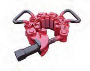 China Safety Clamp for 2-7/8 to 4-1/8 Pipes/Tubulars, Model MP-S,  7 Chain Links, API7K on sale