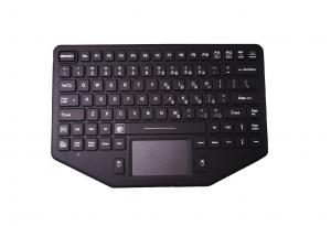 China Panel mount silicone rubber industrial touchpad keyboard for mobile vehicle on sale
