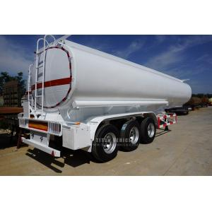 China fuel tank truck trailer, crude oil tanker trailer with 3 axle for sale on sale